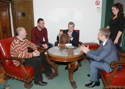 Посета аустријског амбасадора Архиву